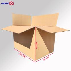Karton klapowy 600x400x400mm 3W B 420g/m2 10 szt.