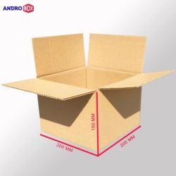 Karton klapowy 200x200x150mm 3W B 390g/m2 20 szt.
