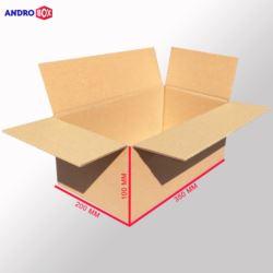 Karton klapowy 350x200x100mm 3W B 390g/m2 20 szt.