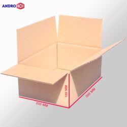 Karton klapowy 300x200x100mm 3W B 390g/m2 20 szt.